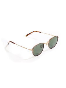 e1819a4ac14 ALO 25 black round luxury sunglasses with silver frame Retail price €330 NEW