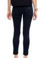 Navy blue cotton slim fit denim pants Retail price €225 Size 34