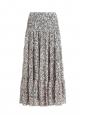 Jupe Moriah longue en mousseline imprimée fleurie rose bleu vert Prix boutique 180€ Taille 34