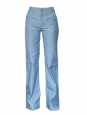 Seventies-style light blue high waist flare jeans Retail price €380 Size 36