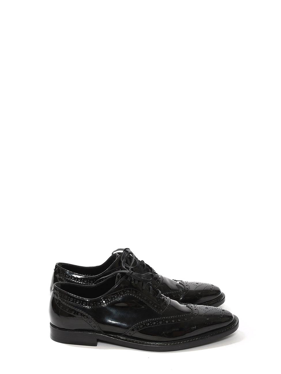 76fe22d0c13 Louise Paris - DOLCE   GABBANA Chaussures Richelieu en cuir verni ...
