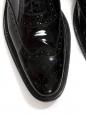 Chaussures Richelieu en cuir verni noir Prix boutique 475€ Taille 38,5