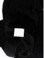Black wool v neck sweater Retail price €650 Size 40