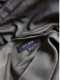 Robe manches courtes en soie et laine vert foncé Px boutique 1200€ Taille S