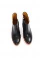 Bottines boots Chic à talon en cuir noir NEUVES Px boutique 360€ Taille 39