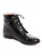 Bottines FRANCES en cuir noir Prix boutique 340€ Taille 37