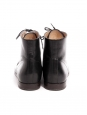 Black leather FRANCES ankle boots Retail price €340 Size 37