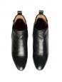 Bottines plates PIPER hauteur cheville en cuir noir Prix boutique 500€ Taille 37