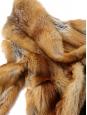 Veste manteau en fourrure de renard roux Taille 36