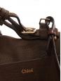 Sac DARLA en cuir et suède marron chocolat Px boutique 1105€