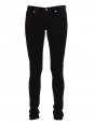 SHINE Black mid-rise skinny denim pants Retail price $215 Size XS