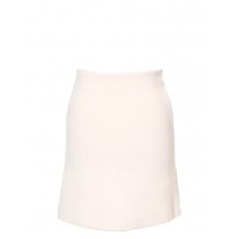 Jupe crayon en laine vierge et angora crème ivoire Px boutique 650€ Taille 36/38