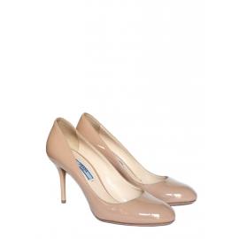 "Escarpins ""Vernice Basic"" en cuir verni beige nude Px boutique 475€ Taille 37"