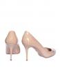 Escarpins Vernice Basic en cuir verni beige nude Px boutique 475€ Taille 37