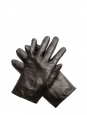 Dark brown leather gloves Retail price €350 Size 7