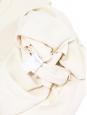 Robe fluide sans manches en crêpe crème Px boutique 700€ Taille 36