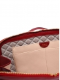 Large LUCY Burgundy red leather shoulder bag NEW Retail price €2500