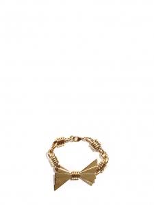 Bracelet noeud et chaîne en laiton doré Prix boutique 350€