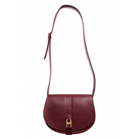 for A.P.C Angèle burgundy red leather cross-body bag Retail price €460