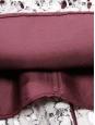Robe manches longues cintrée en dentelle écru doublée bordeaux Prix boutique 1100€ Taille 36