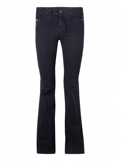 Dark blue The '70s high-rise flared jeans Retail price €325 Size 31