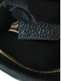 Sac à bandoulière PARATY Medium en cuir grainé noir mat Px boutique 1450€