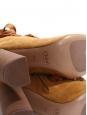 Bottines à talon HARPER en suede marron camel Prix boutique 910€ Taille 39