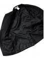 Veste blazer classique en laine noire Prix boutique 950€ Taille 40
