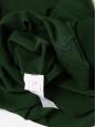 Pull col V en laine vert anglais Prix boutique 1000€ Taille 38/40