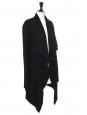 Gilet long SONAR en laine noir Prix boutique 350€ Taille