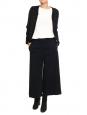 Veste en coton et lurex noir Taille 36