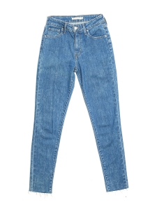 721 High rise skinny slim fit blue jeans Retail price €110 Size 26 (XS)