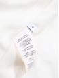 Veste blazer classique en coton mélangé blanc ivoire Px boutique 550€ Taille XS
