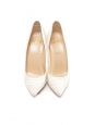 PIGALLE White python leather stiletto heel pumps Retail price €995 Size 37.5