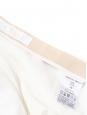 Jupe à volants en crêpe blanc Prix boutique 560€ Taille 38