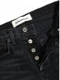 High waist Jordy Kick flare dark grey jeans Retail price $128 Size 24