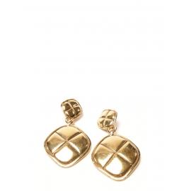 Boucles d'oreilles clip dorées Prix boutique 590€