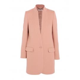 Manteau veste BRYCE en laine et cachemire rose Prix boutique 1340€ Taille 38