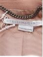 STELLA McCARTNEY Manteau veste BRYCE en laine et cachemire rose Prix boutique 1340€ Taille 36