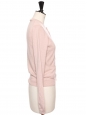 Soft pink knitted pure cashmere cardigan Size S