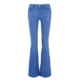 Jean flare en coton bleu clair Prix boutique 275€ Taille 30 (38/40)