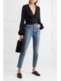 HIGH RISE Self corps dark blue jeans Retail price €205 Size 25