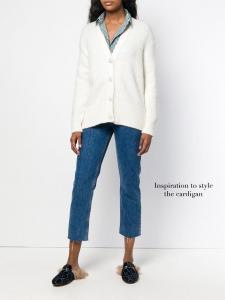 Gilet cardigan en pur cachemire blanc ivoire Prix boutique 300€ Taille S