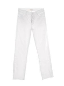 Jean blanc THE RASCAL ankle snippet taille haute droit éffiloché Prix boutique 280€ Taille 27