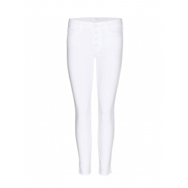 Jean blanc THE PIXIE slim fit taille basse Prix boutique 280€ Taille XS