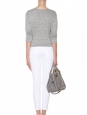 MOTHER THE PIXIE slim fit low Waist white jeans Retail price €280 Size XS