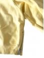 ACNE STUDIOS Pull sweatshirt Bird col rond en coton jaune clair Prix boutique 200€ Taille S