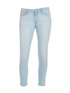 MOTHER Light blue Sweet Talk to Me Looker Ankle Fray jeans Retail price $238 Size 30 (M/L)