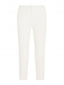 CHLOE Pantalon tailleur en crêpe de chine blanc ivoire Prix boutique 480€ Taille 40
