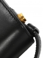 SAINT LAURENT Sac LULU Medium à bandoulière en cuir noir et blanc Prix boutique 1500€